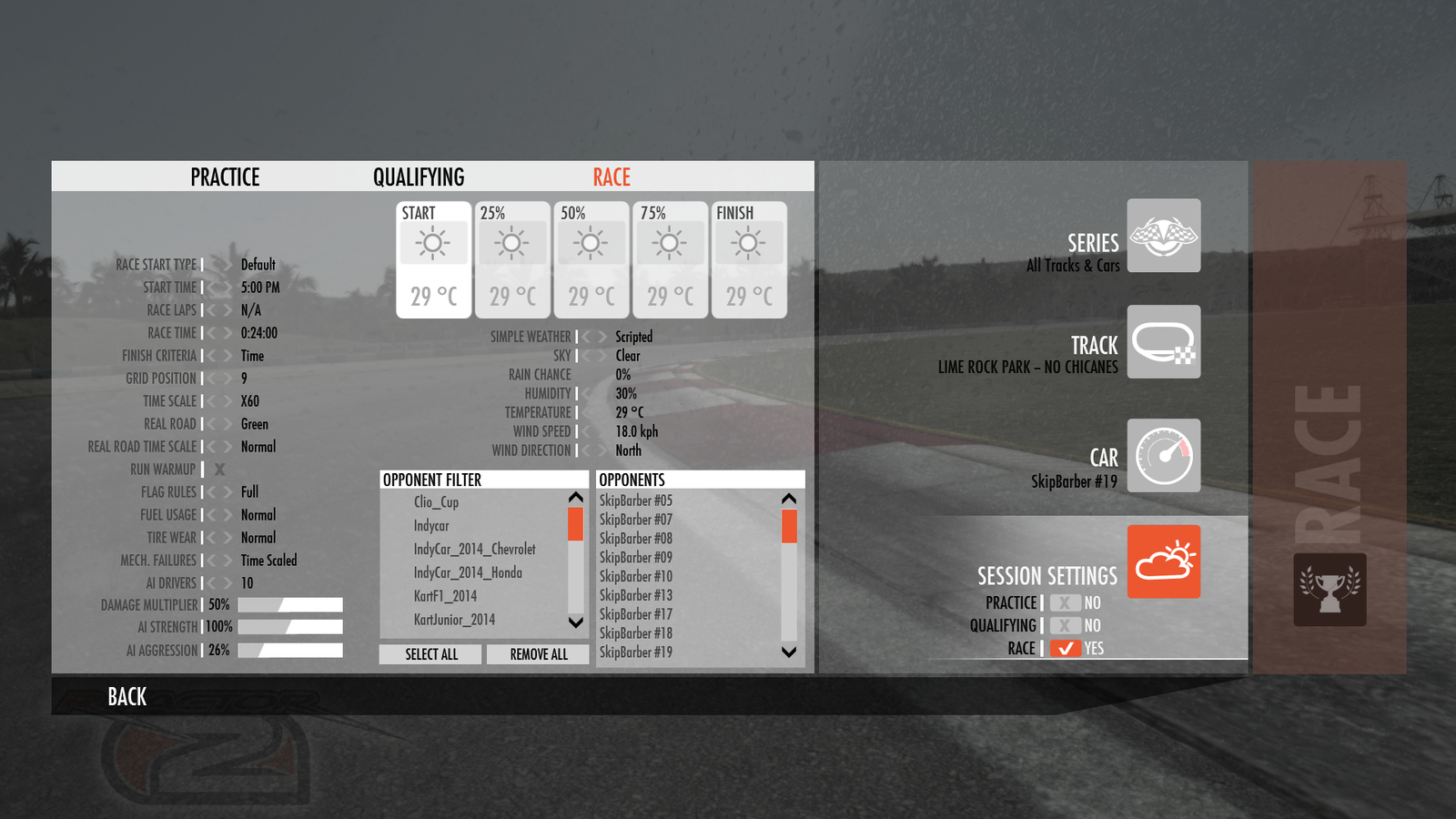 rFactor 2 : build 930 disponible !