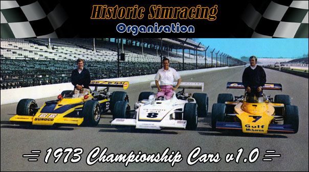 rFactor Mod HSO 1973 Championship Cars disponible !