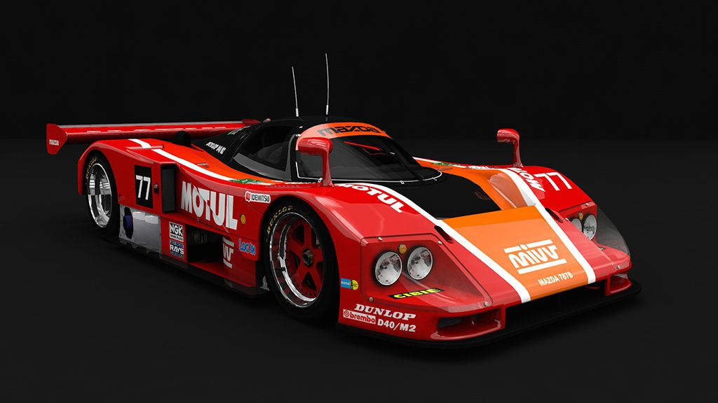 Assetto Corsa Mod Mazda 787B 1.2 disponible !