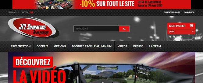 Ouverture du site JCL SimRacing To Be Faster !