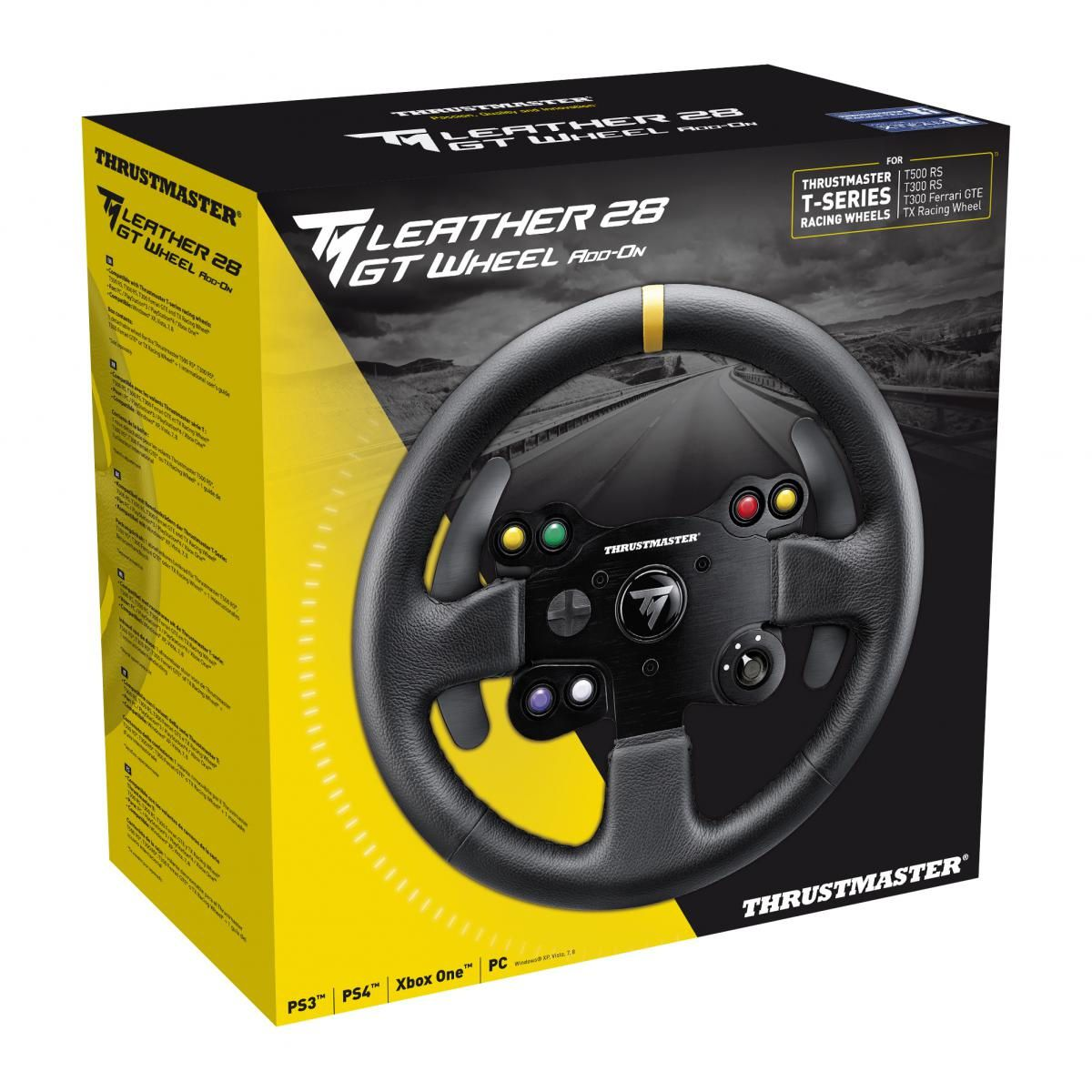 Le nouveau volant Thrustmaster Leather 28 GT