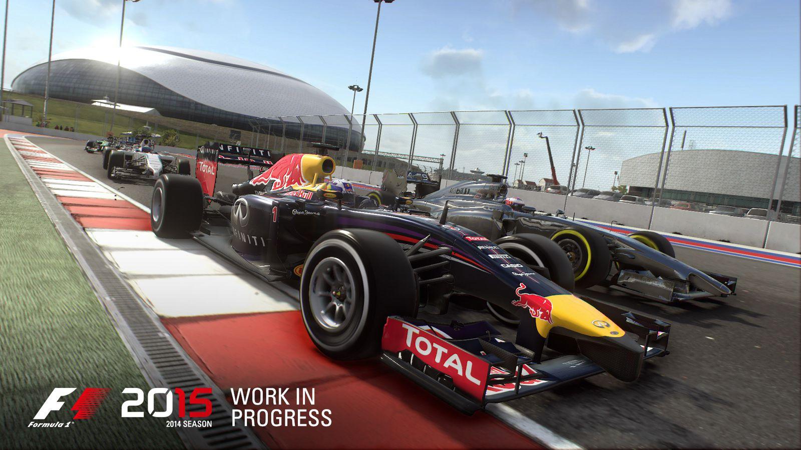 F1 2015 de Codemasters prévu pour juin prochain !