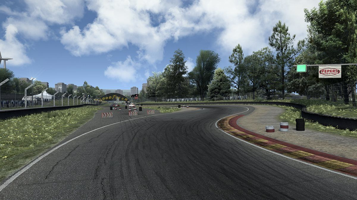 Assetto Corsa circuit Blackwood Reloaded 0.8 disponible !