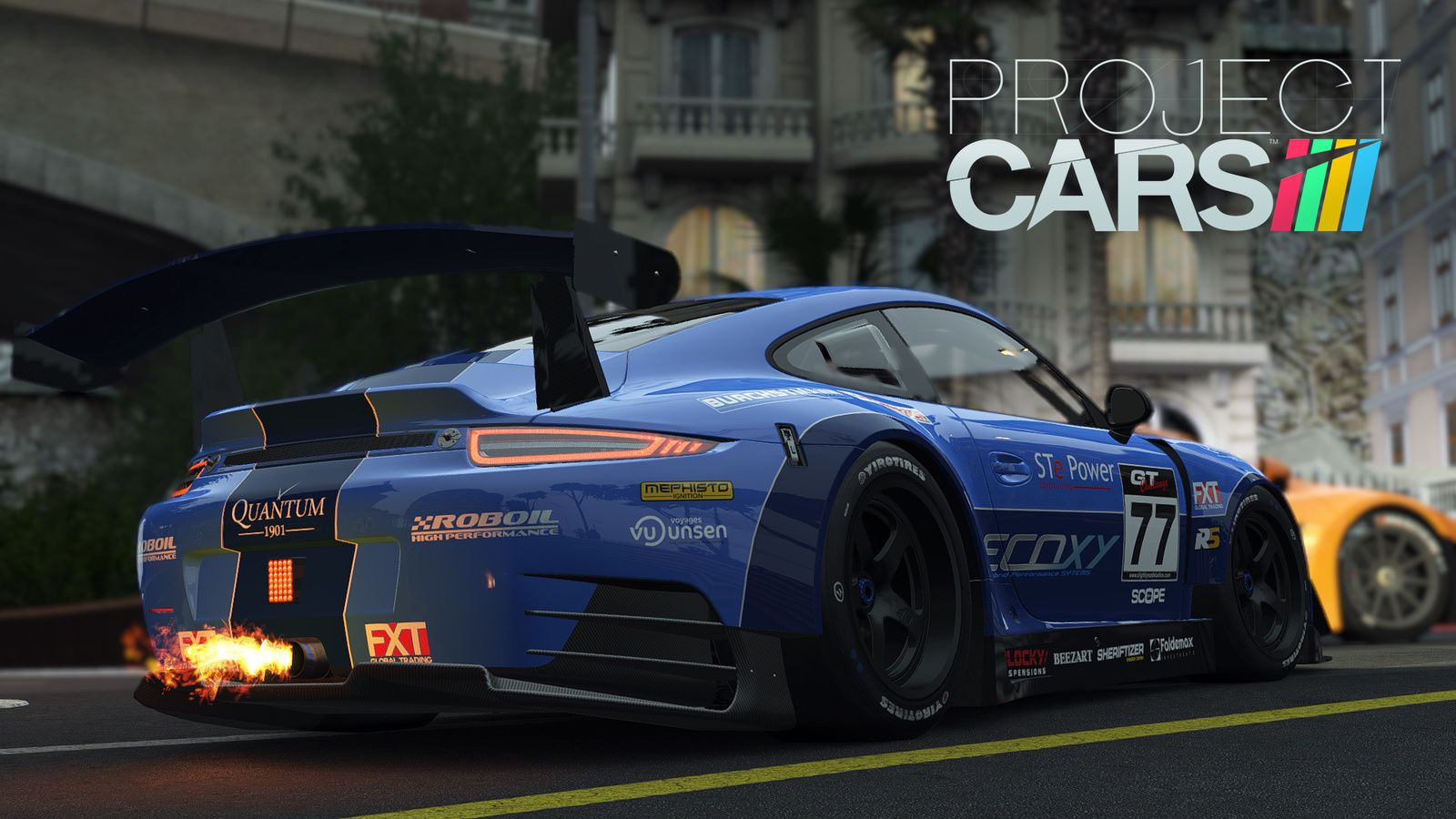 Project CARS : liste des voitures...