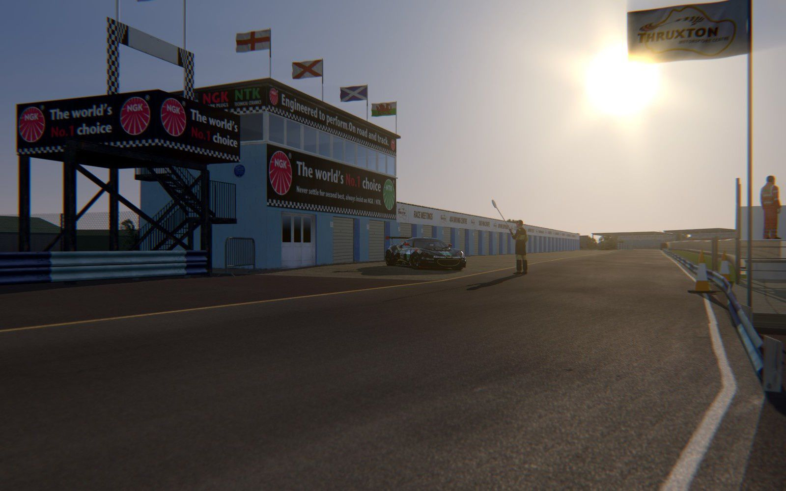 Assetto Corsa circuit Thruxton Beta disponible !