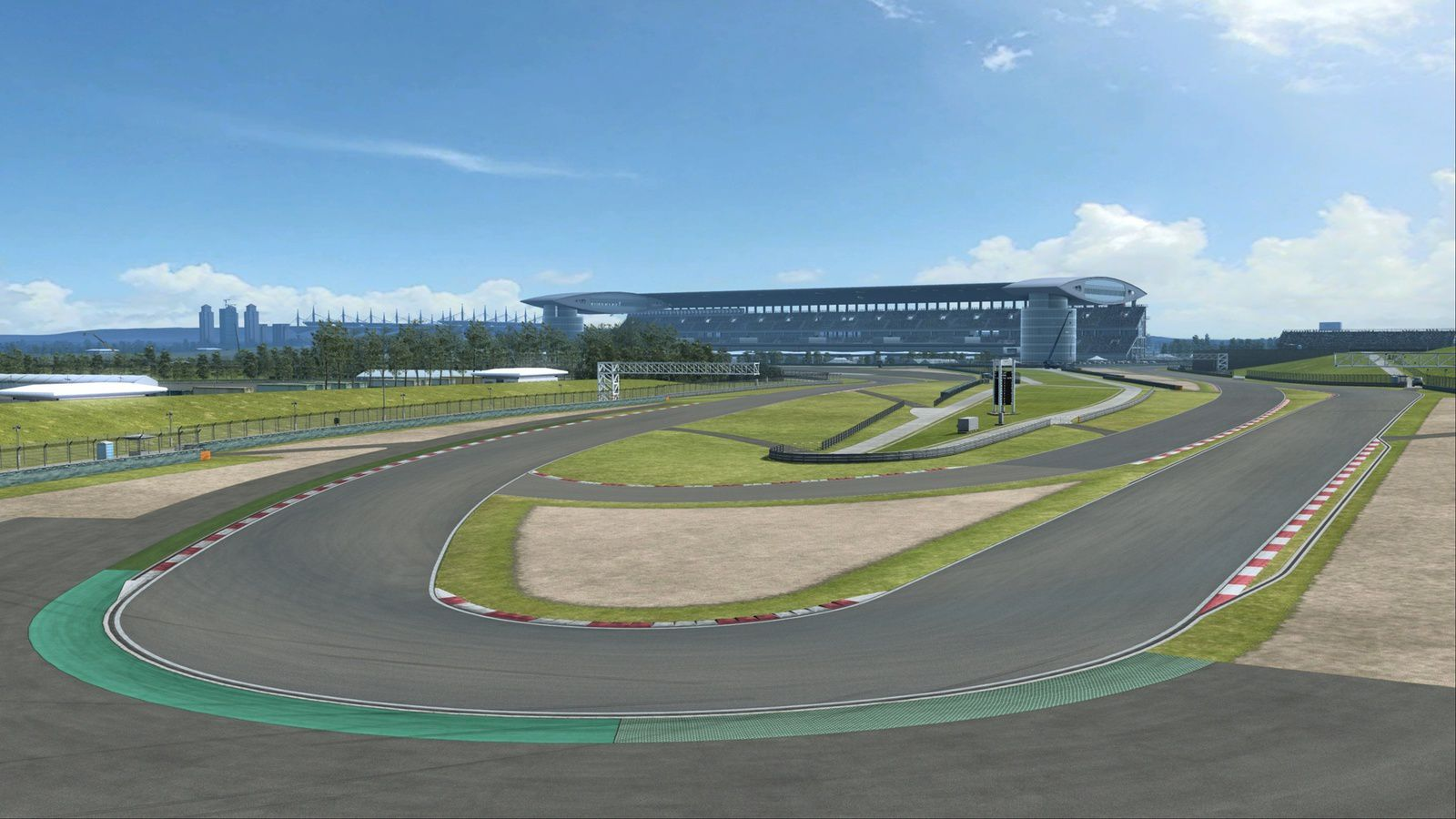 R3E circuit Shanghai disponible !