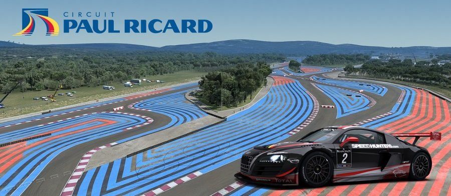 R3e Le Circuit Paul Ricard En Gt3 The Racing Line