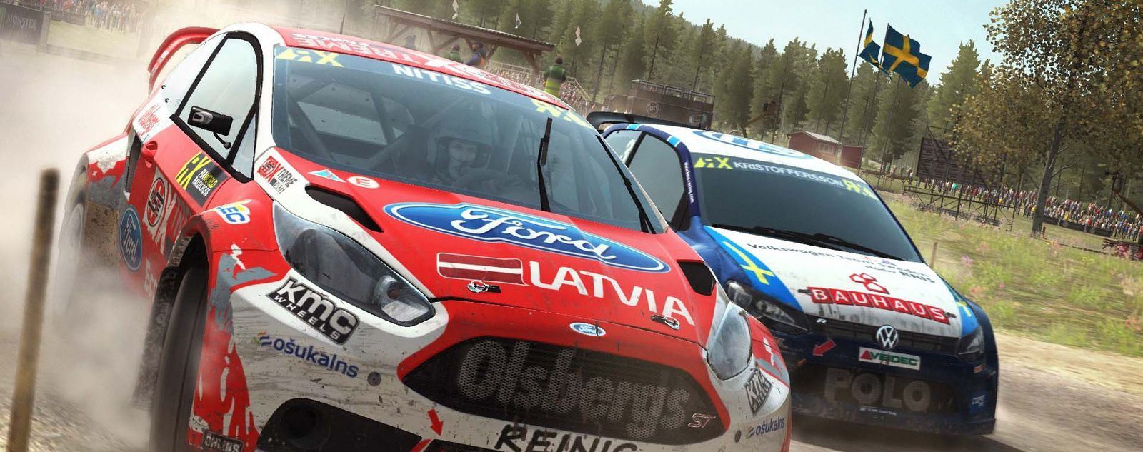 DiRT Rally - Découverte Update &quot&#x3B;RX Rallycross&quot&#x3B;.