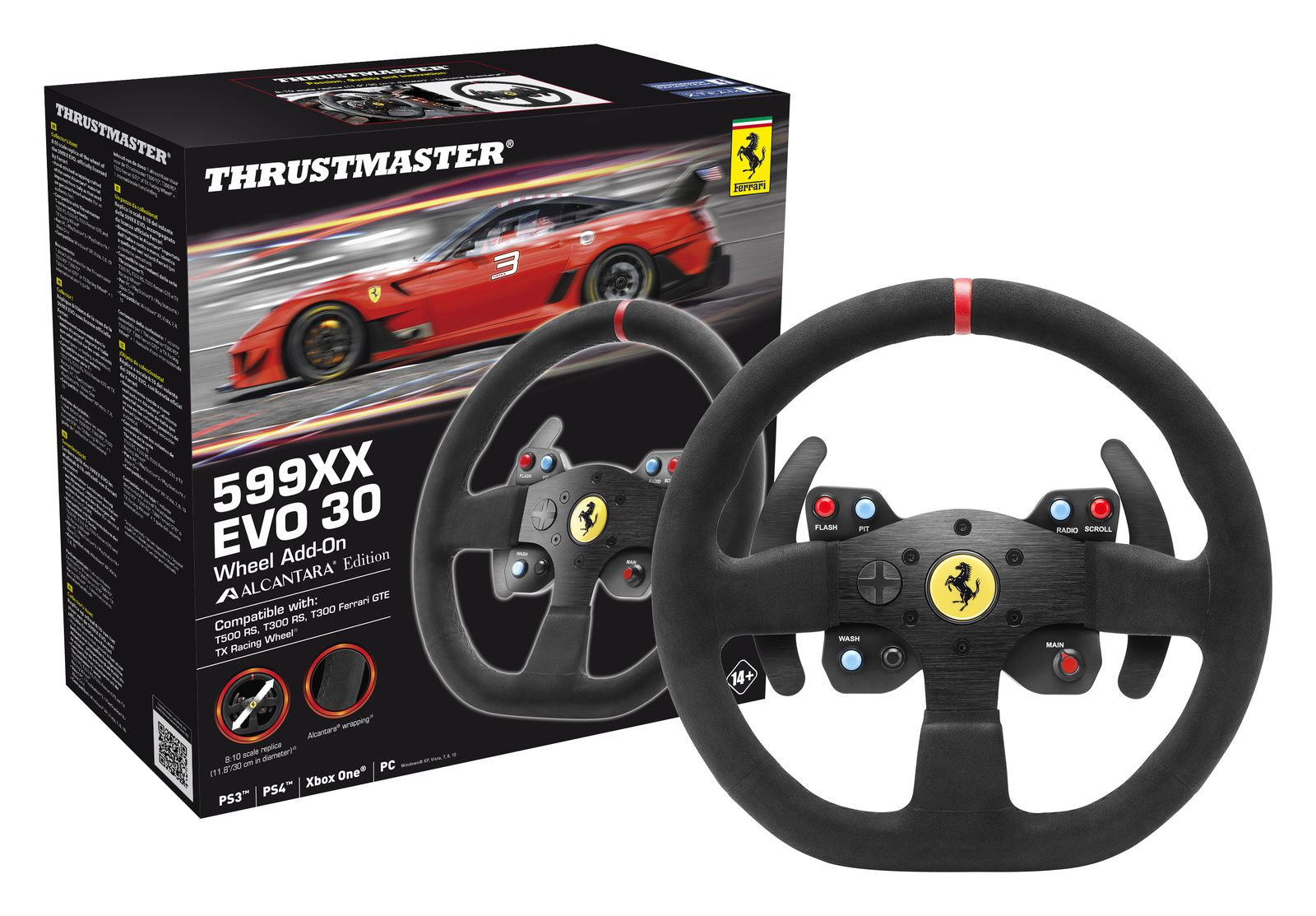 Thrustmaster annonce le &quot&#x3B;599XX EVO 30&quot&#x3B;