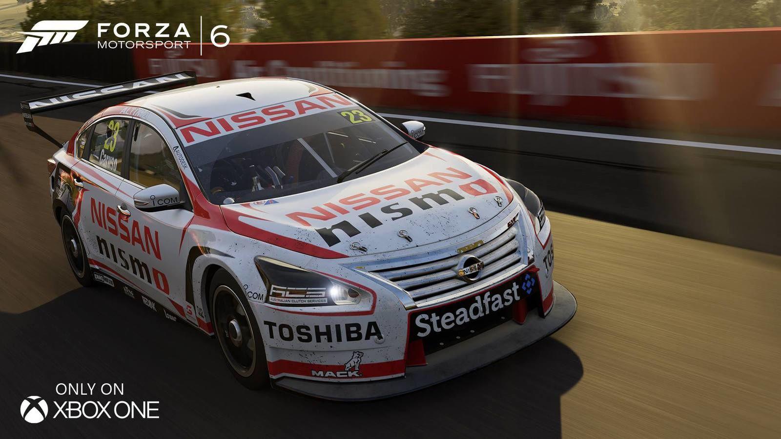 Forza Motorsport 6 - Le V8 Supercar 2015 présenté.