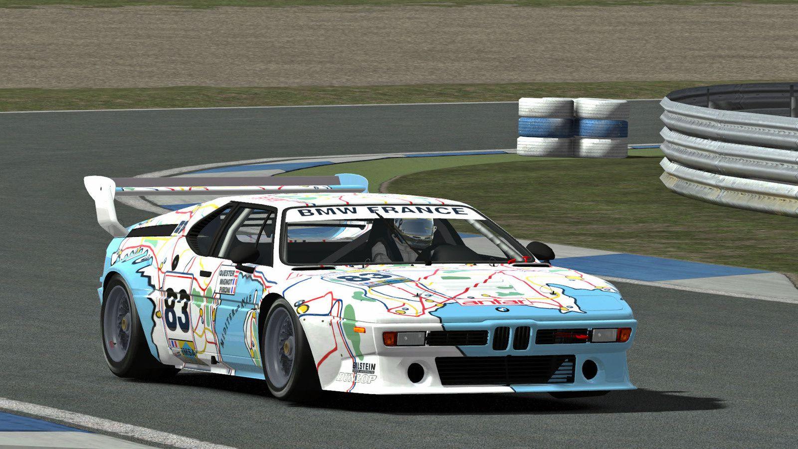 rFactor 2 - BMW M1 Procar, a qui est-elle ?