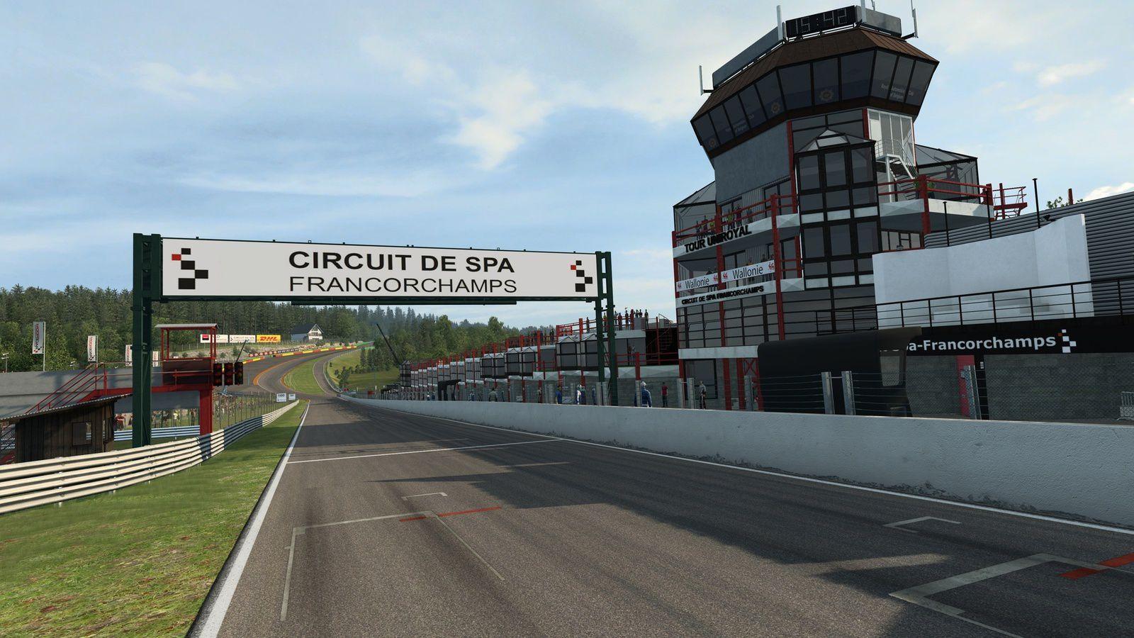 Raceroom - Spa-Francorchamps, sur le store.