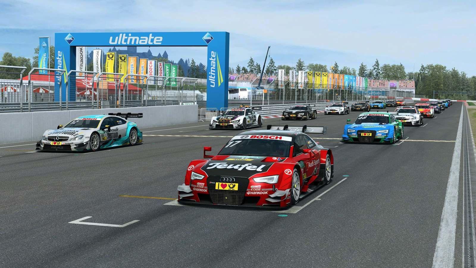 Raceroom - Nouvelle étape dans le développement.
