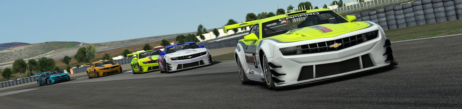 rFactor 2 : Chevrolet Camaro GT3 1.6 disponible !