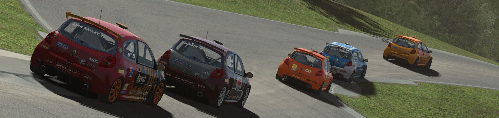 rFactor 2 : Clio Cup 197 1.63 disponible !