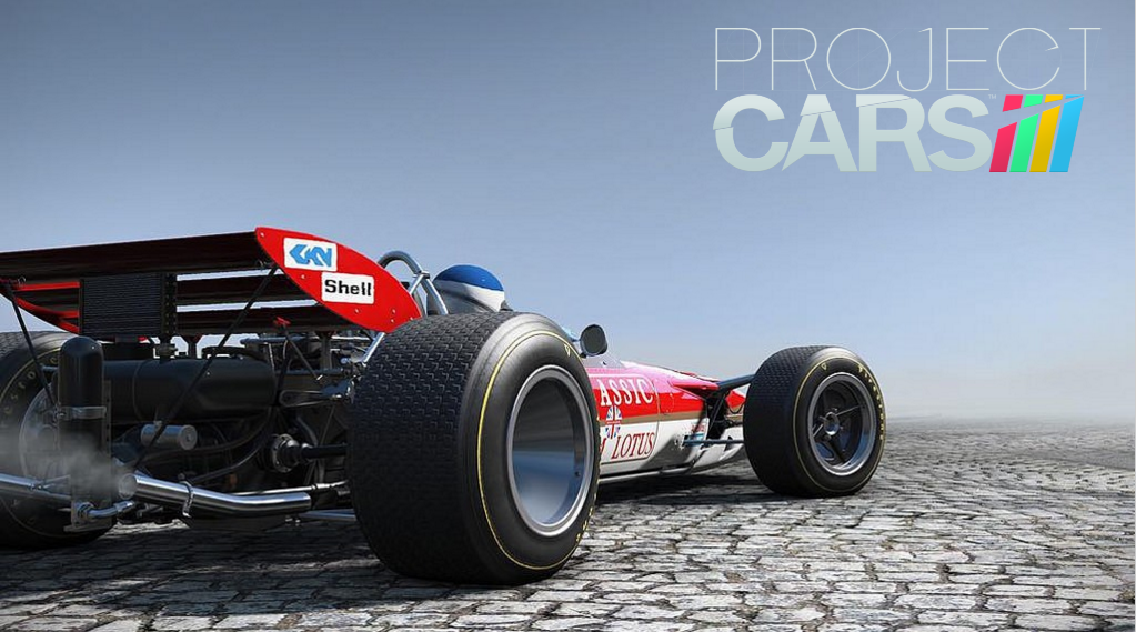 """Project CARS - DLC - """"Classic Lotus Track""""."""