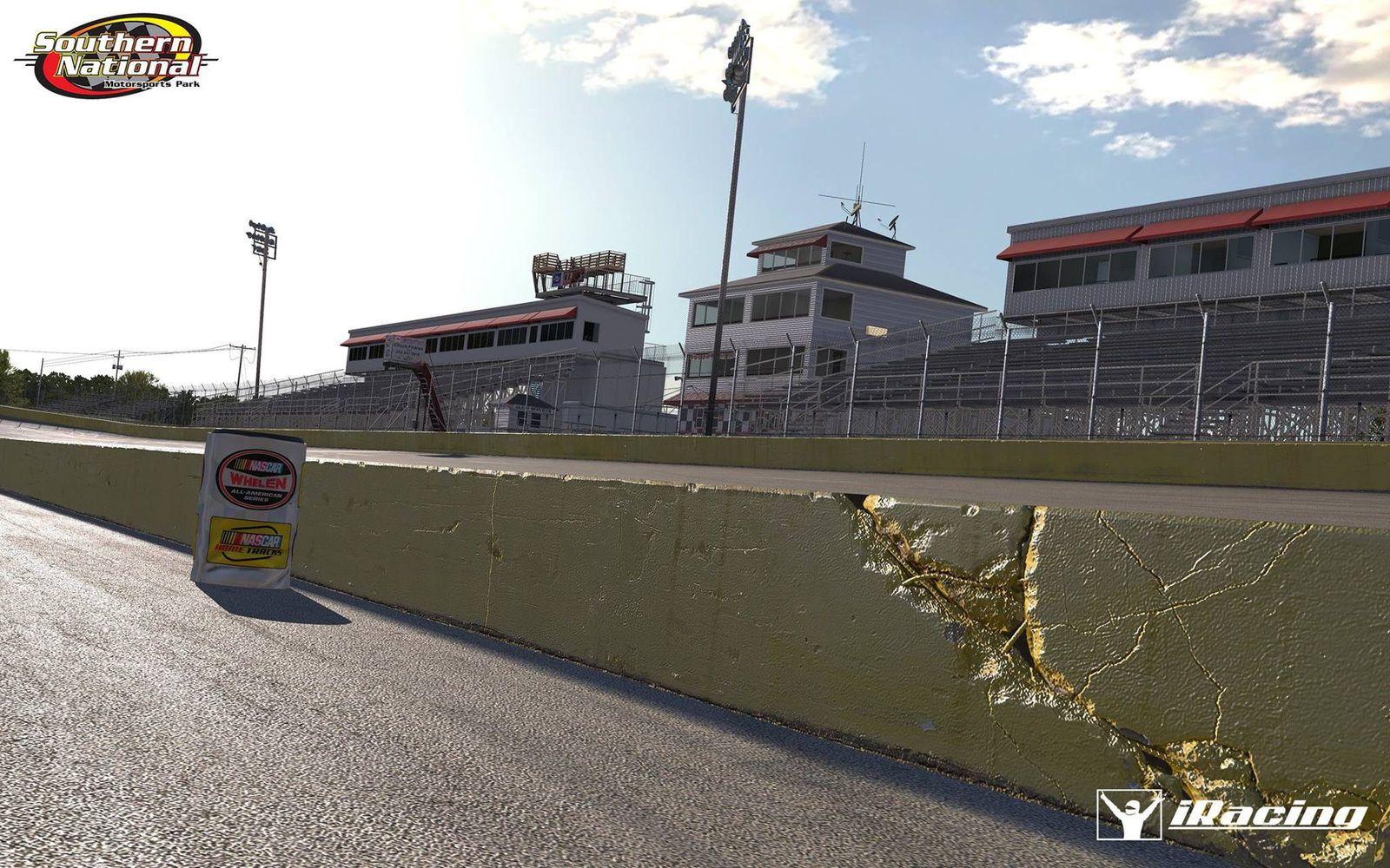 iRacing : Southern Motorsports Park en préparation