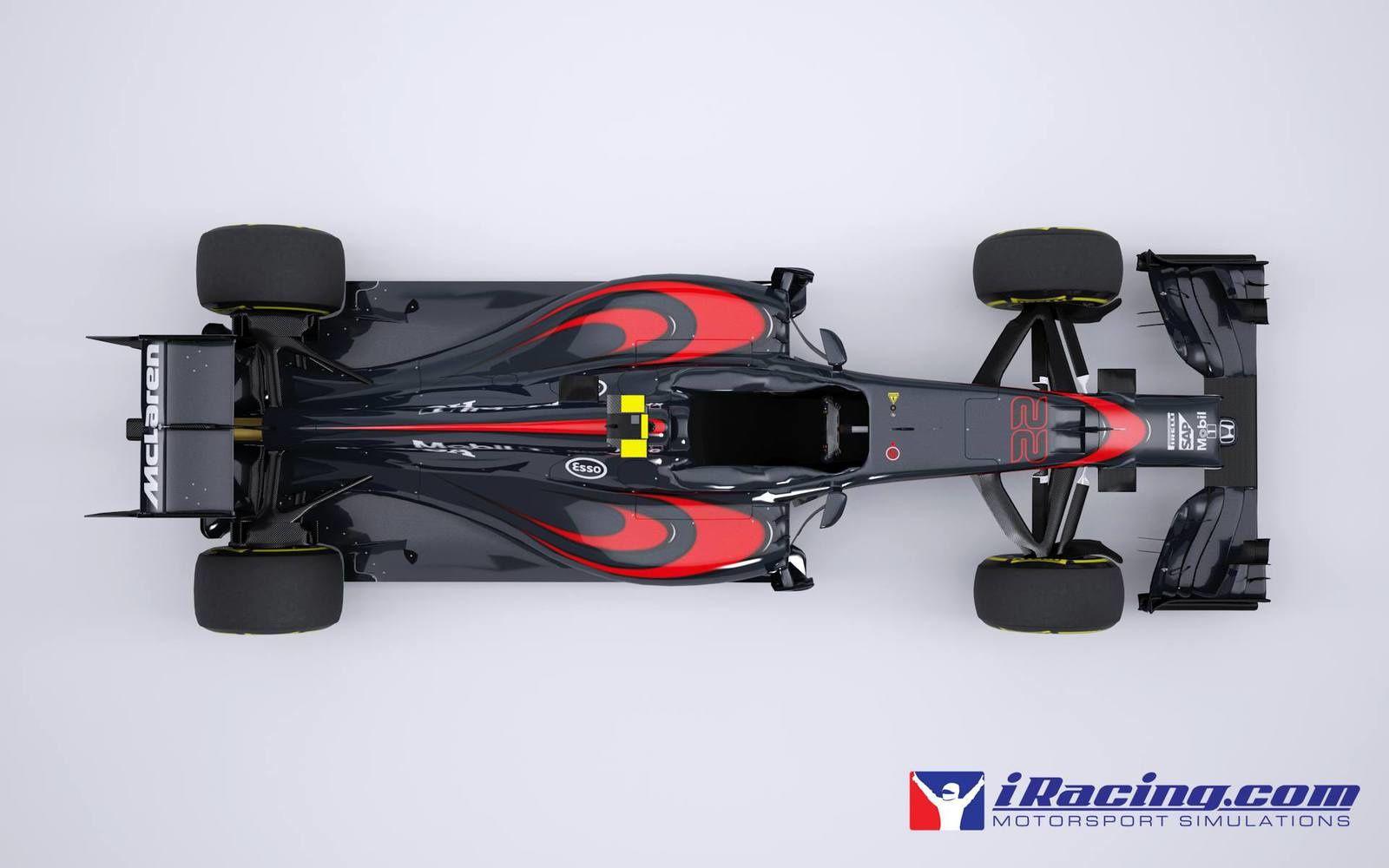 iRacing : la McLaren-Honda MP4-30 se dévoile