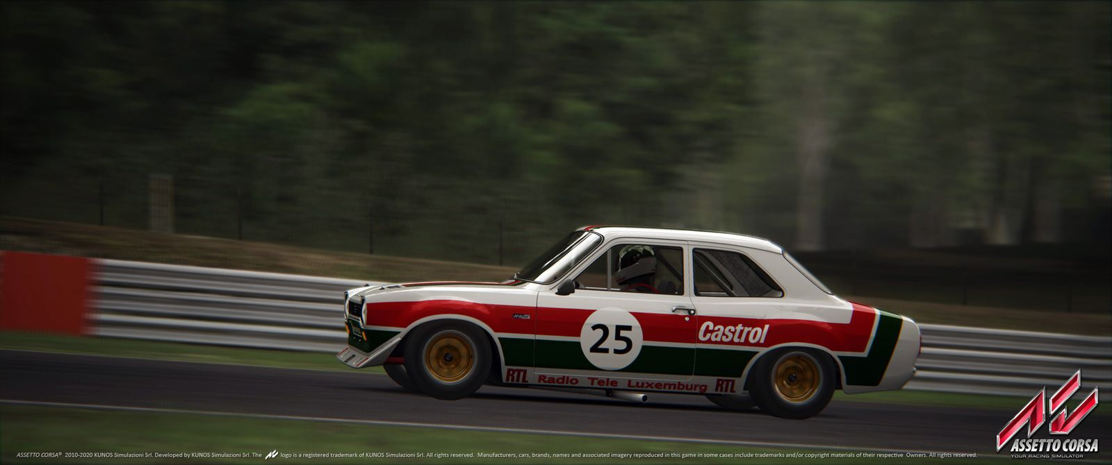 Assetto Corsa – Dream Pack 3, le contenu.