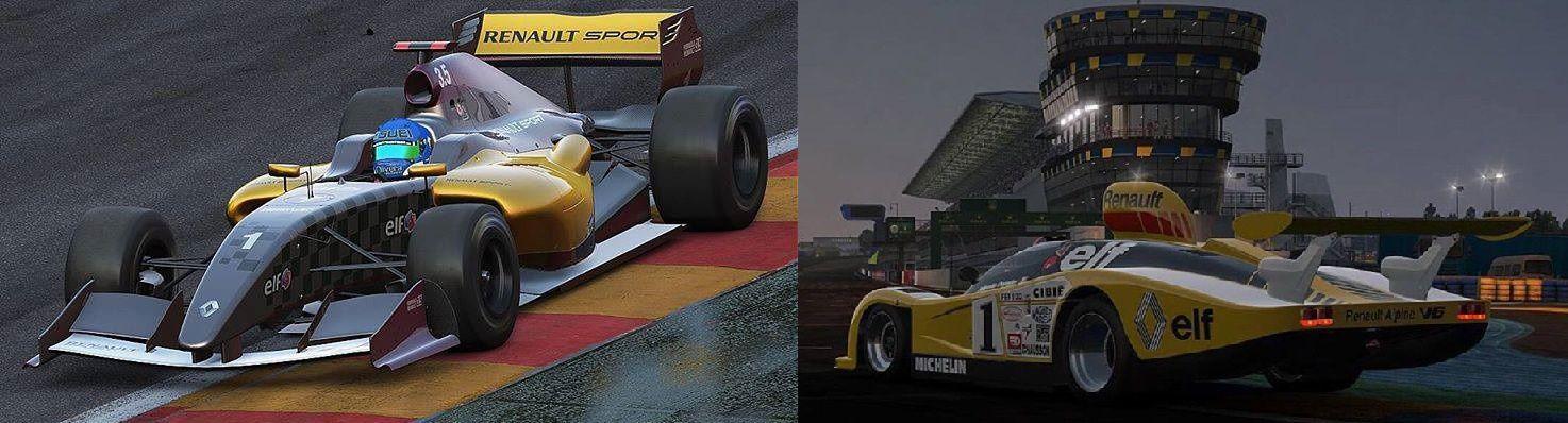 Project CARS - &quot&#x3B;Pack Renault&quot&#x3B; toutes les infos.