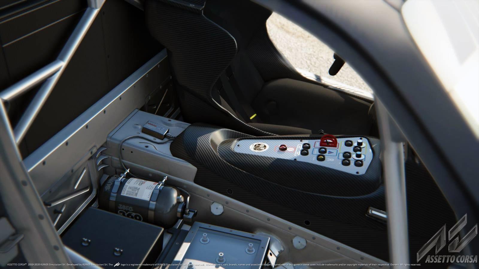 Assetto Corsa : une image de la Mercedes AMG GT3