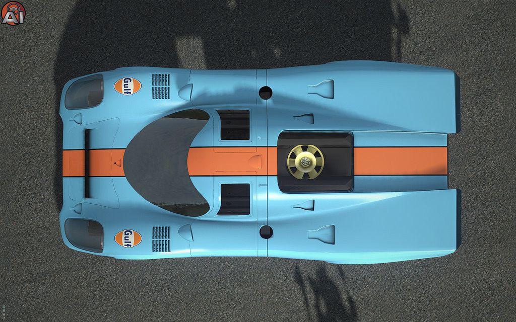 rFactor 2 - Porsche 917 par Apex Modding.