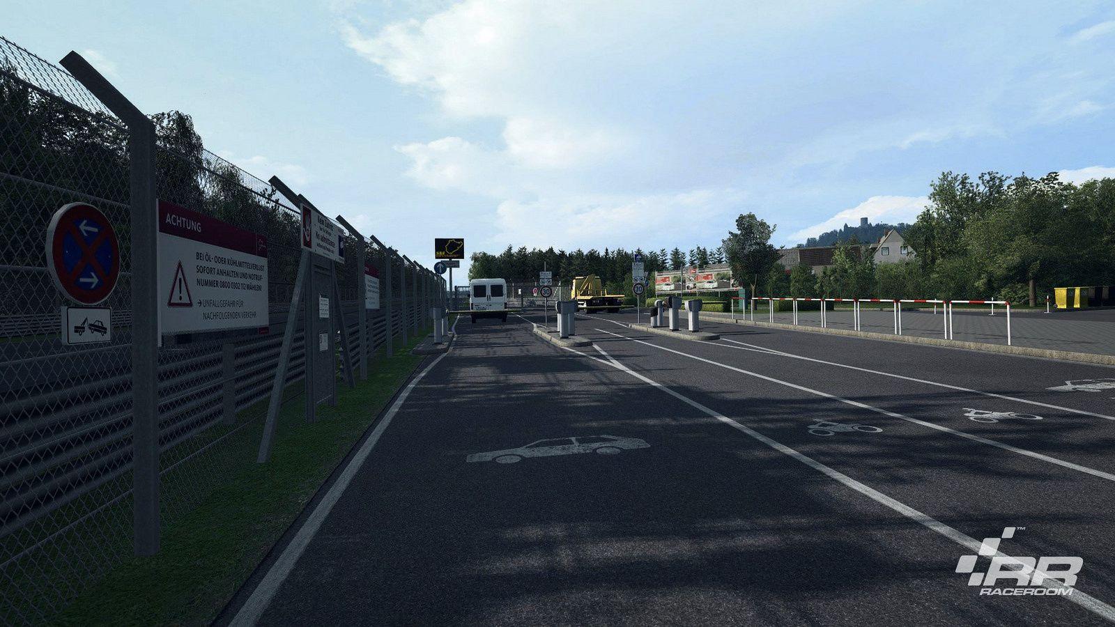 R3E : nouvelles images du Nürburgring Nordschleife