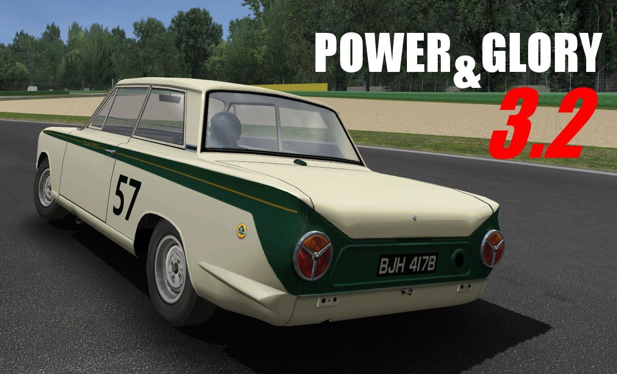 GTR2 Mod Power &amp&#x3B; Glory 3.2 disponible !