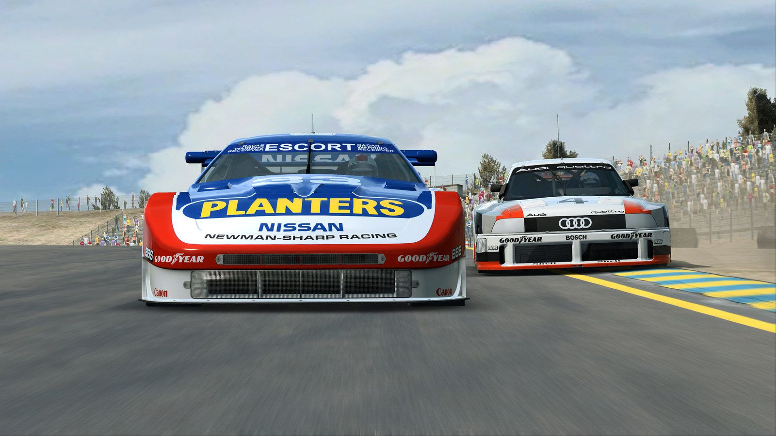 R3E - GTO - L'Audi ne sera plus seule.