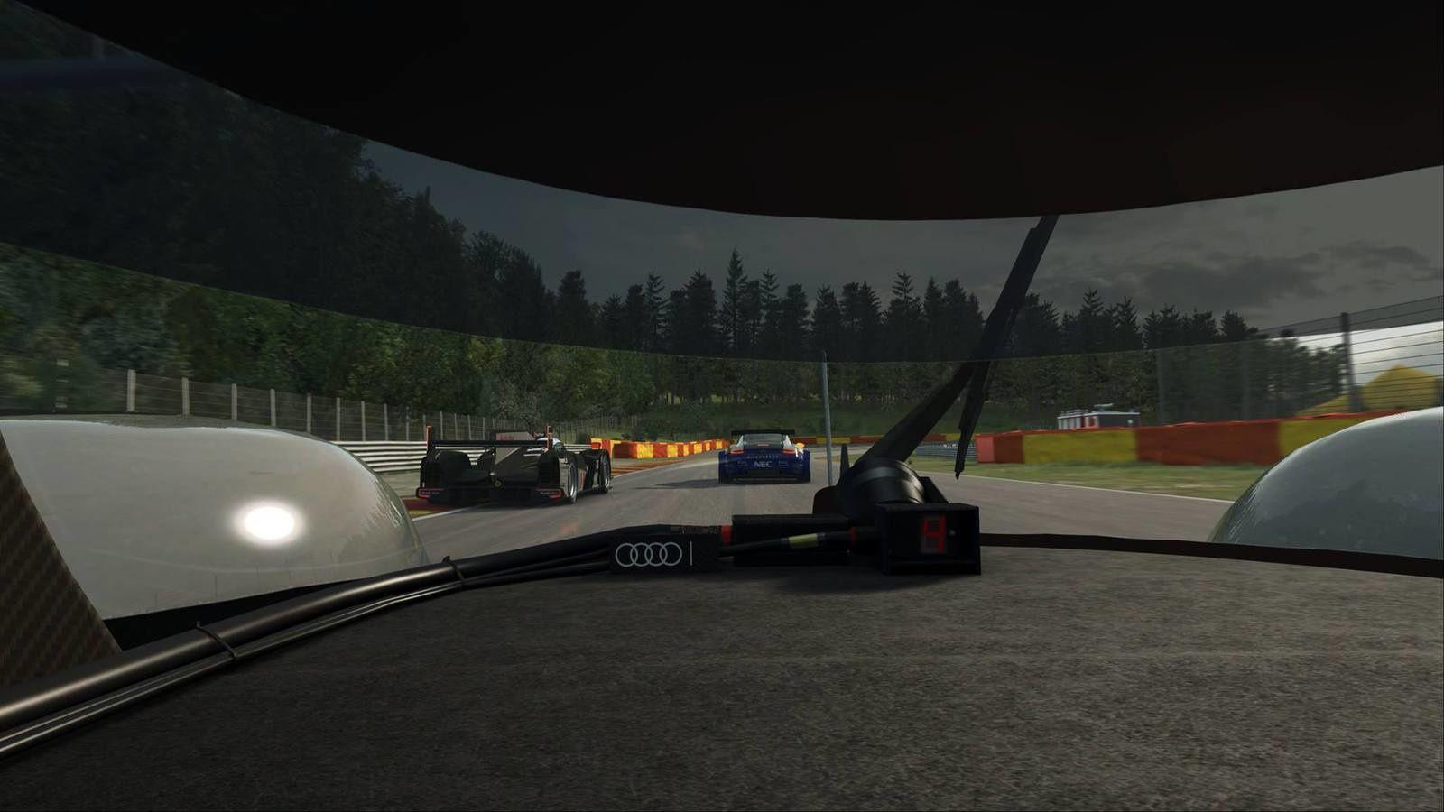 Raceroom - Images de l'Audi R18.