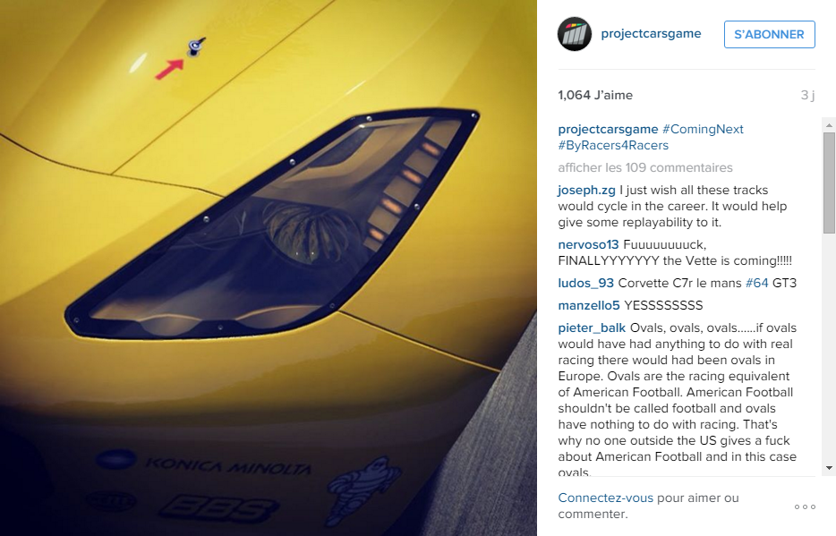 Project CARS tease son prochain DLC.