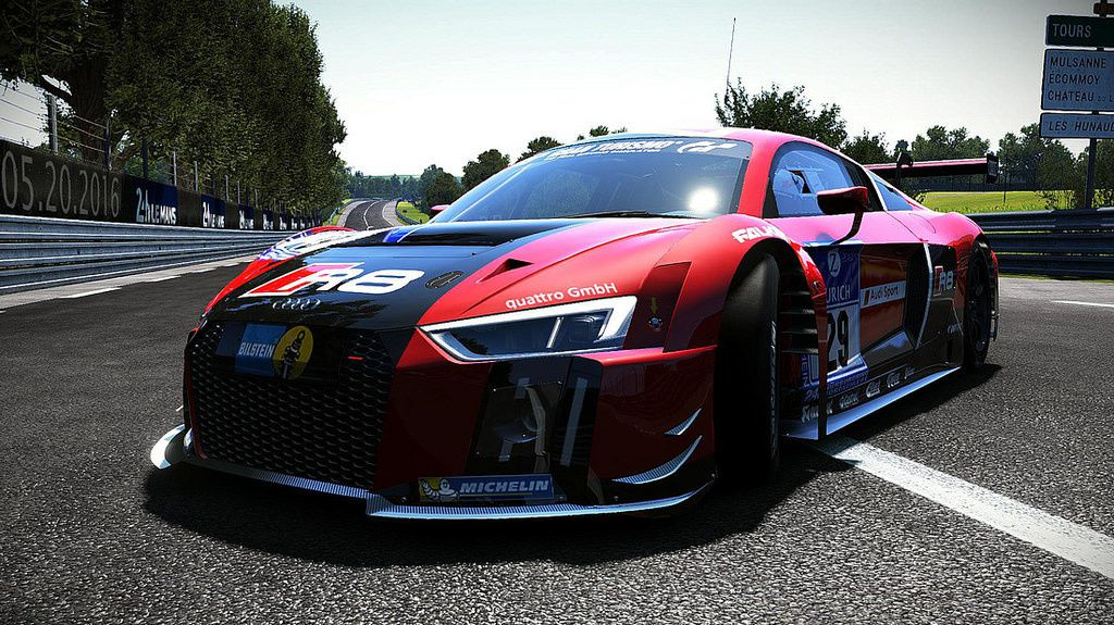 Project CARS - Audi R8 LMS 2015 v1.0