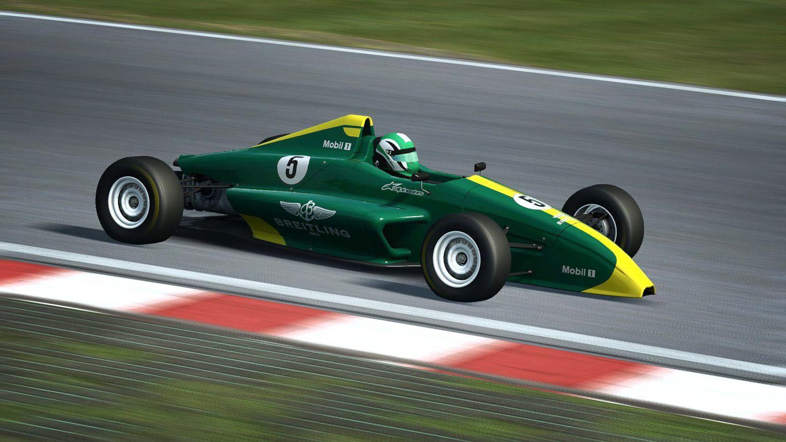 Raceroom - Bentley GT3 & Formule Junior