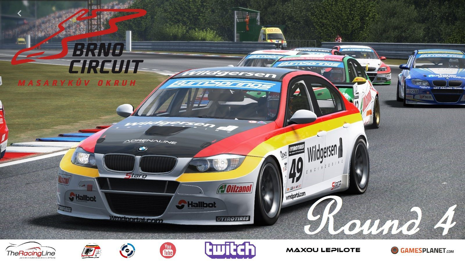 FR Live Stream - BMW 320 TC Cup by Pit-Lane Motorsport