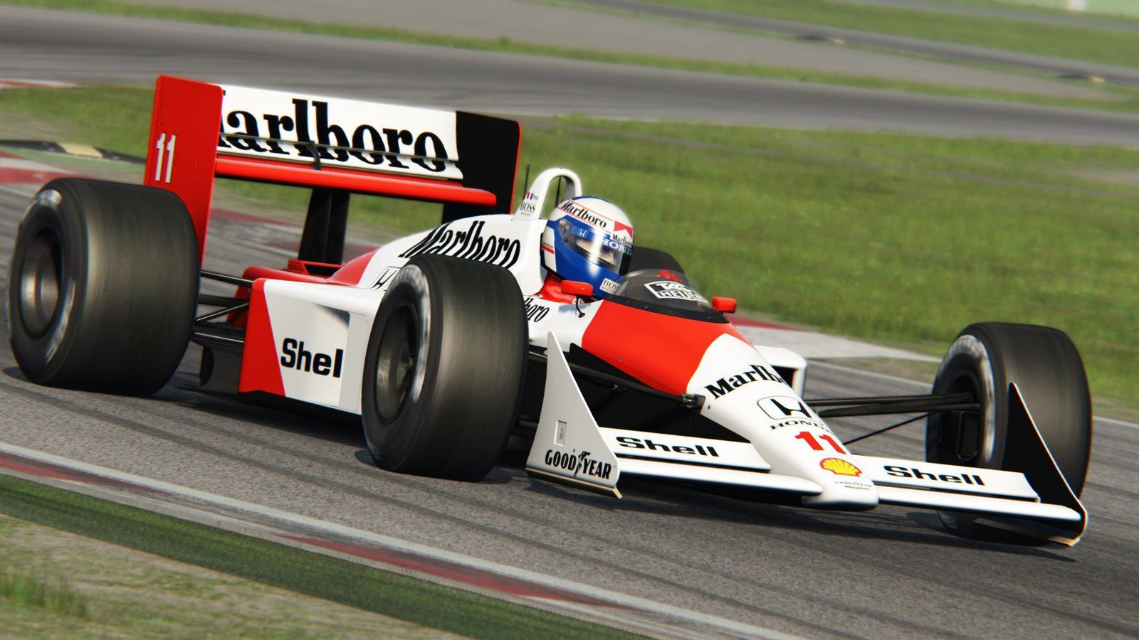 Assetto Corsa - Mclaren MP4/4 by Mark-Corp