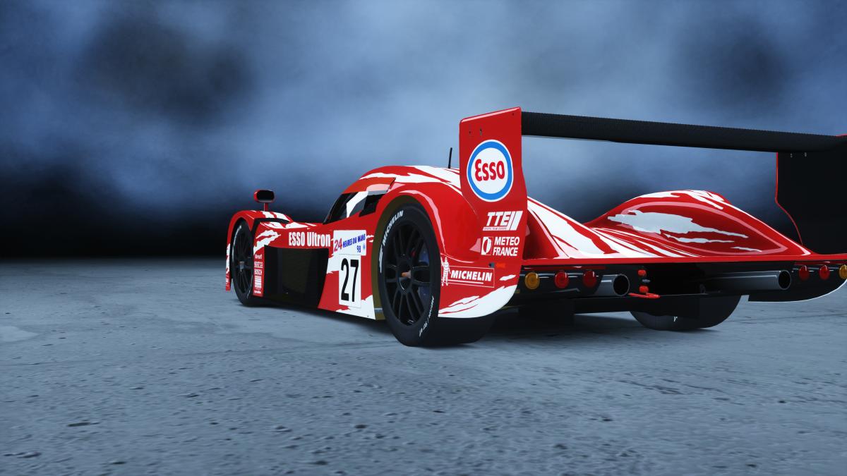 Assetto Corsa - Toyota GT-One, les rendus.