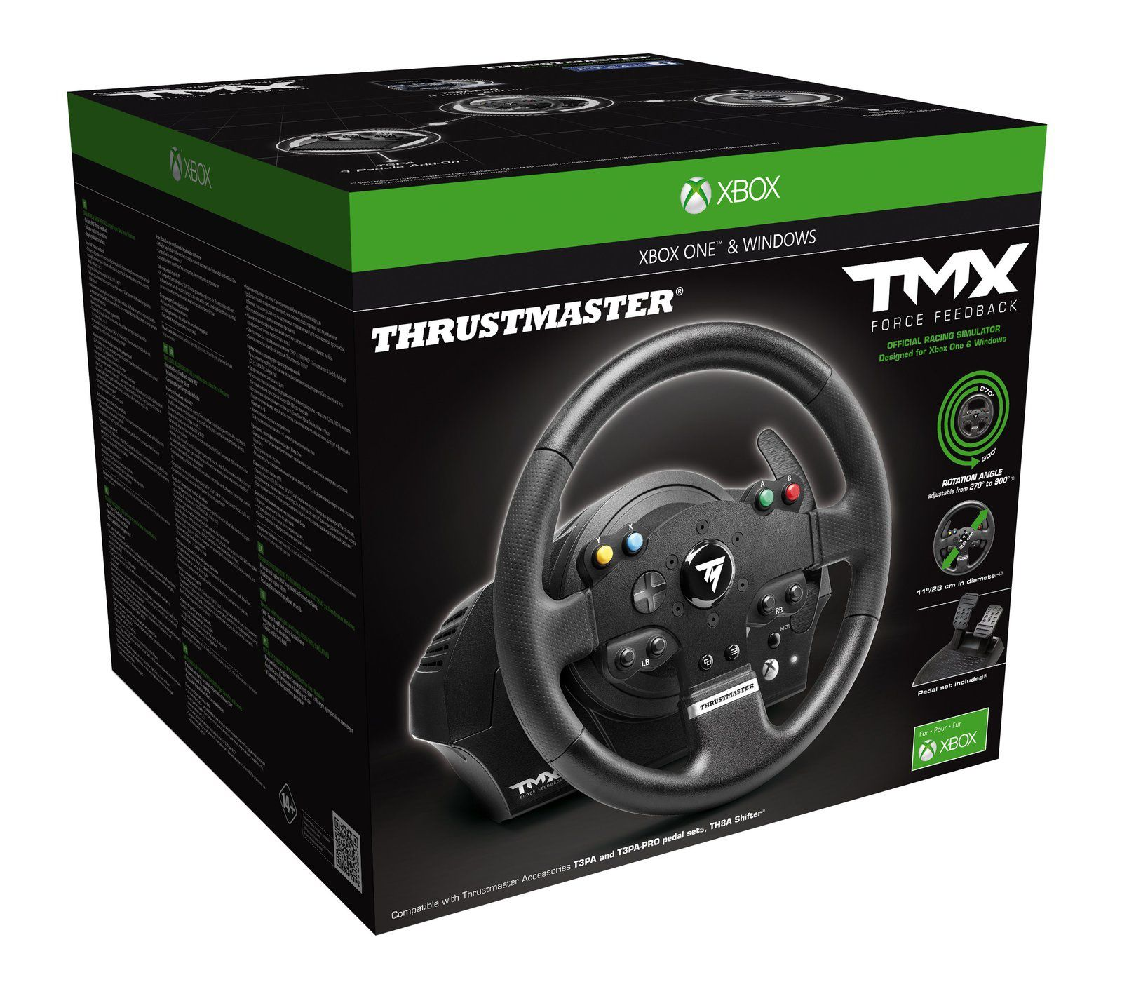Thrustmaster TMX, la Xbox One à son volant low-cost!