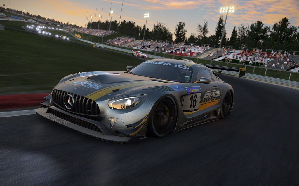 Project CARS - Images de la Mercedes AMG GT3
