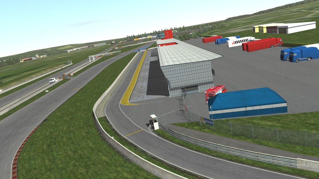 Circuito Nogaro : Rfactor circuit nogaro disponible the racing line
