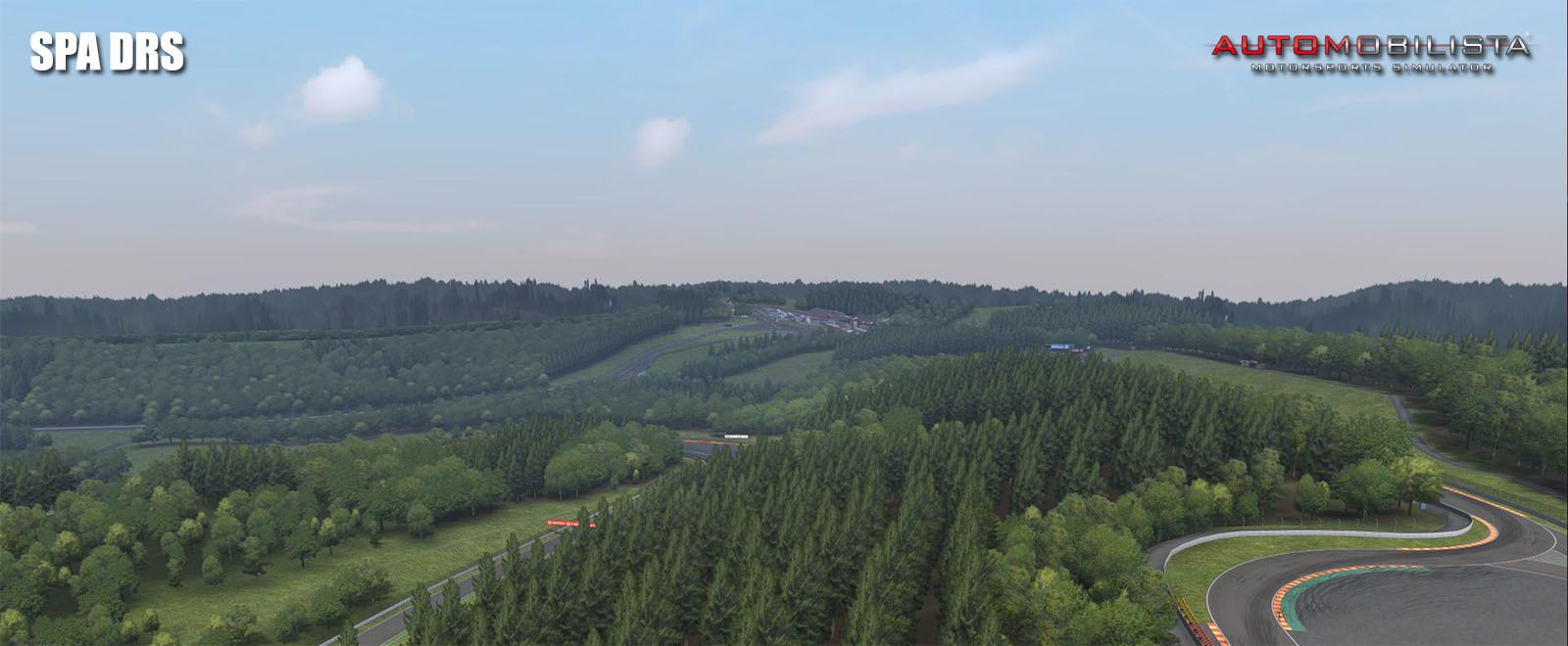 Automobilista circuit Spa Francorchamps disponible !