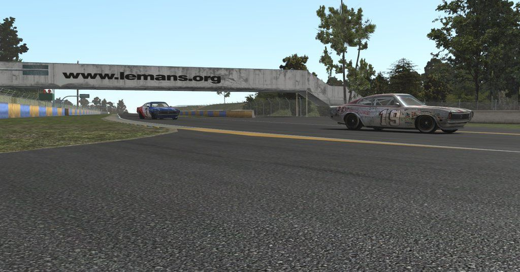 rFactor 2 circuit Le Mans Bugatti 0.95 disponible !
