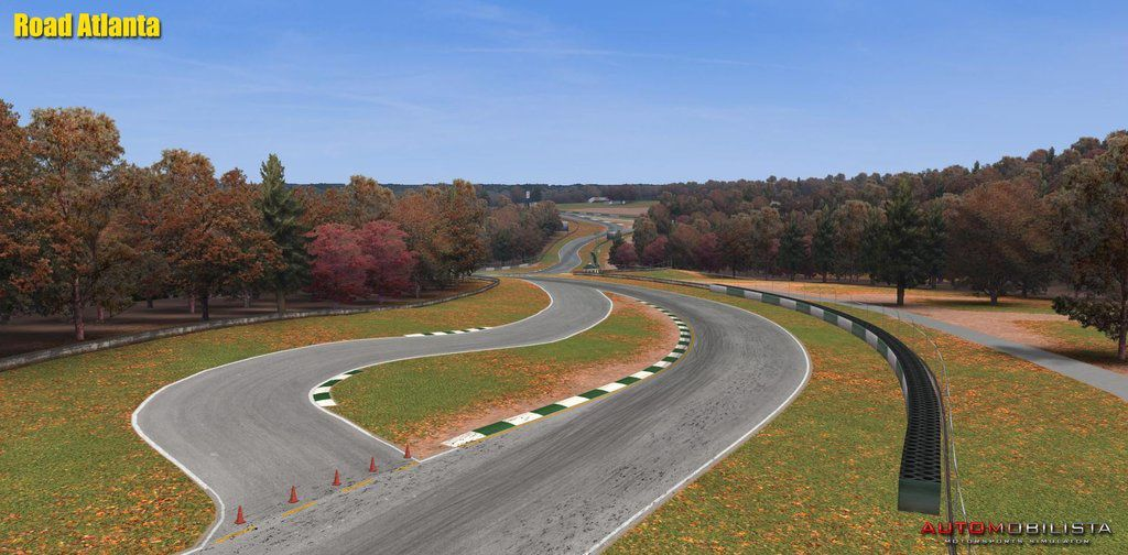 Automobilista circuit Road Atlanta disponible !