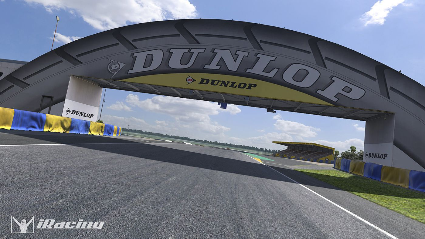 iracing circuit le mans disponible the racing line. Black Bedroom Furniture Sets. Home Design Ideas