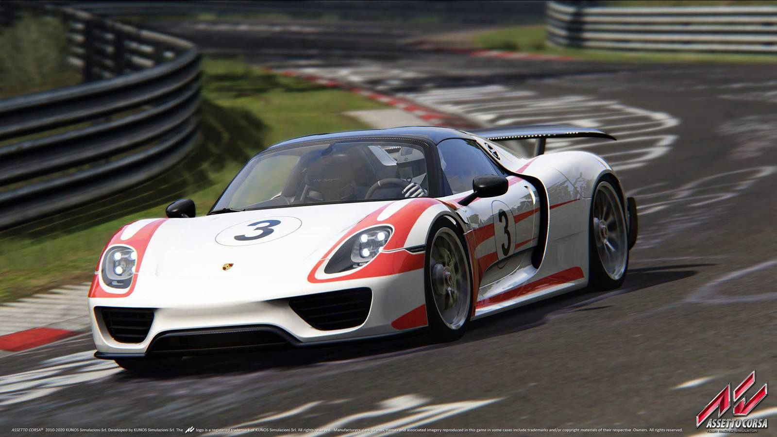 Assetto Corsa - Pack Porsche, screenshots !
