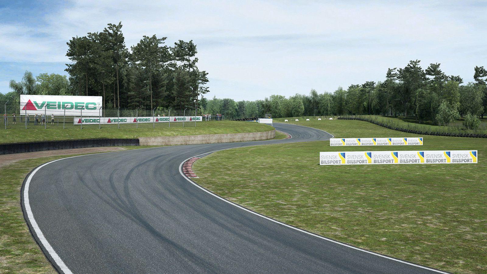Raceroom - Falkenbergs  continue la série des pistes suédoises !