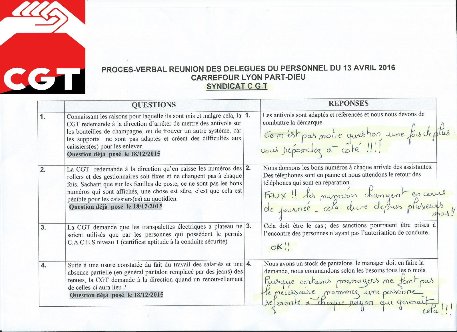 Questions DP 13 avril 2016