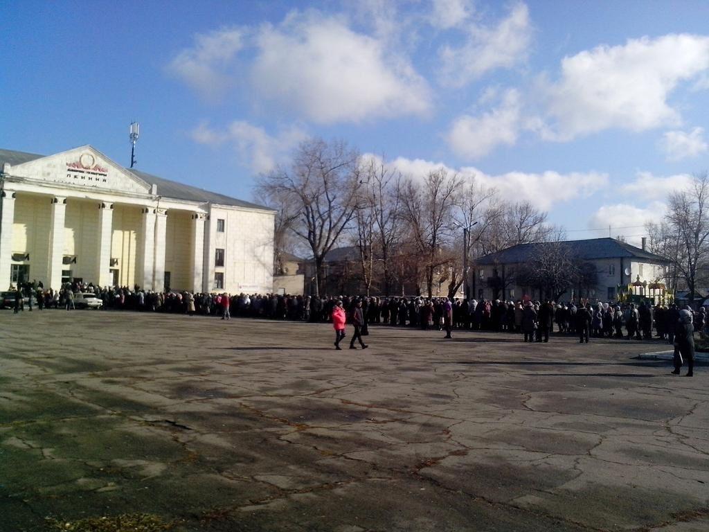 Le Donbass a voté...