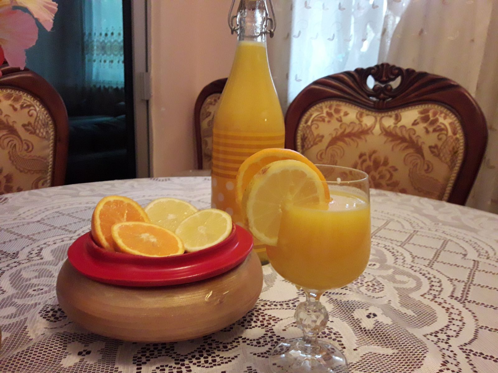 jus d'orange &amp&#x3B; citron