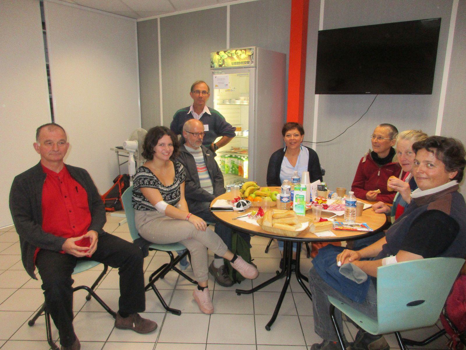 Opération PLASMA ce matin, 2ème fois pour PLOUGASTEL: 7 donneurs à BREST!