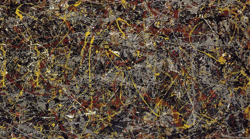 Jackson POLLOCK (https://perezartsplastiques.files.wordpress.com/2015/03/number-5.jpg)